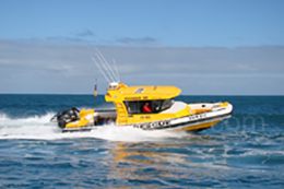 10m Naiad Rescue Vessel (after refurbishment) Rockingham VMR